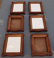 Киоты и залевкашенные иконные доски из липы., фото 1