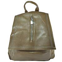 Арт 9035-3 Рюкзак св.коричневый 28х28х9,5см