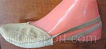 Получешки кожаные (бежевые), фото 3