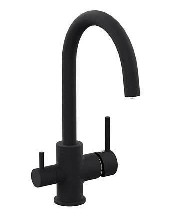 Змішувач для кухні з підключенням питної води Imprese Daicy 55009-UB, фото 2