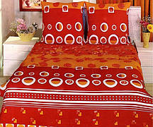 Полуторное махровое постельное белье Polents