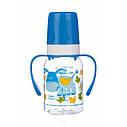 """Бутылочка для кормления120мл с ручками """"Разноцветная ферма""""Canpol 11/823, фото 5"""