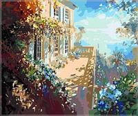 Картины по номерам на холсте 40×50 см. Терраса в горах Художник Парселье Лоран