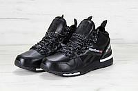 Мужские кроссовки Reebok GL 6000 (черные)