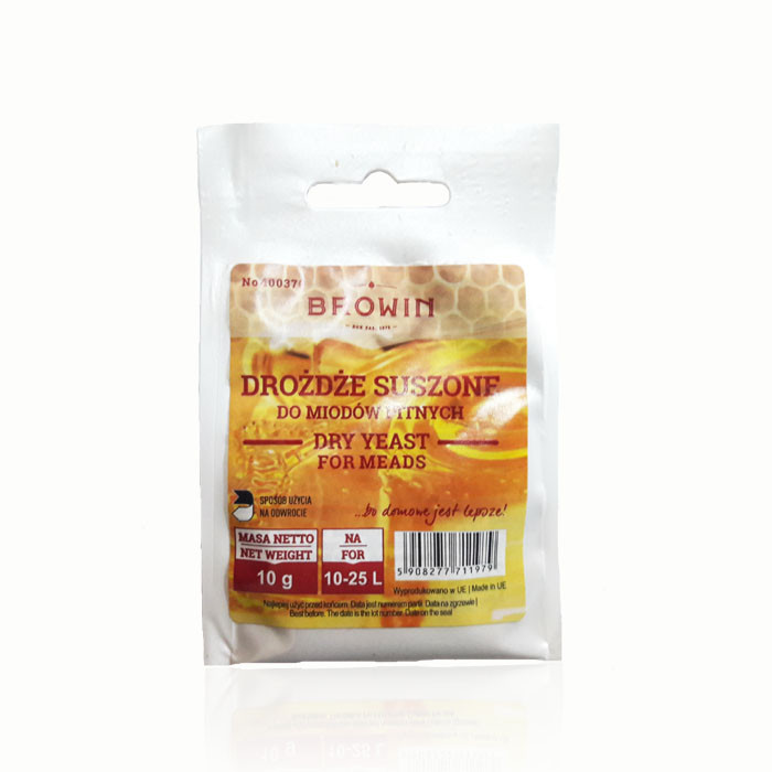 Дрожжи для медовухи BROWIN Mead Yeast 10г (Польша)