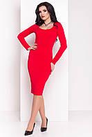 """Платье """"Альтера 510"""" Красный  S"""