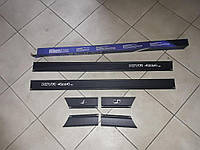 Молдинги на двери Лада, Ваз, Нива 2121, 7 см Турция Sahler