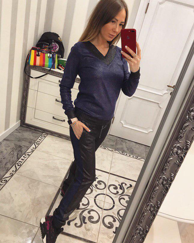 c18456ed Красивый спортивный костюм (арт. 142247152) - Aleksa - интернет-магазин  женской одежды