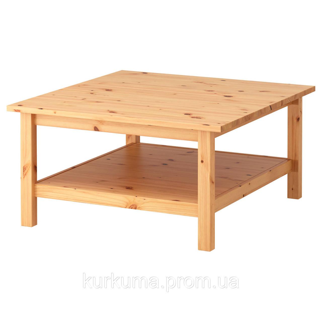 Ikea Hemnes журнальный столик светло коричневый 90282137 цена