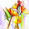 Фото на Римских шторах/Цветы, растения, фрукты