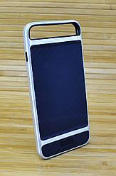 Силиконовый чехол на Айфон, iPhone 7+\7Plus REMAX BALANS CARBON стальной