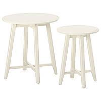 IKEA KRAGSTA Столы, 2 шт., Белый  (202.998.29)