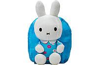 Рюкзак детский SB-332-3 зайчата голубой