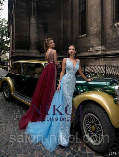 Вечернее, выпускное платье 1374