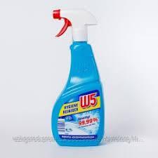 Средство для чистки ванной W5 99.99%  750мл