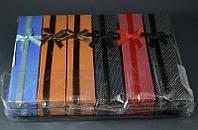 Подарочная упаковка Мелкий горошек 21х4х2,5 см