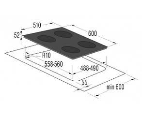 Варильна поверхня Gorenje IC634CLB, фото 2