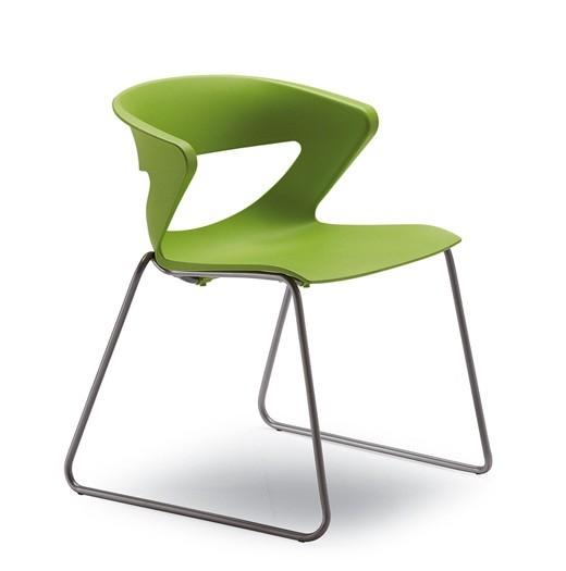 Кресло офисное Kicca Италия зеленое