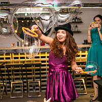Шоу Мыльных пузырей! Неоновое шоу на детский праздник.