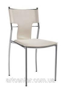 Стул офисный, стул для дома, стул для посетителей, стул обеденный(БЕРЛИН Х белый)