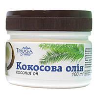Натуральное кокосовое масло Triuga для волос и тела 100 мл.