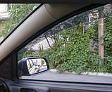 Дефлектори вікон вставні BMW 3 Series Е46 1998-2004 2D / вставні, 2шт/ Compact, фото 5