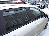 Дефлектори вікон вставні BMW 3 Series Е46 1998-2004 4D / вставні, 4шт/ Sedan, фото 8