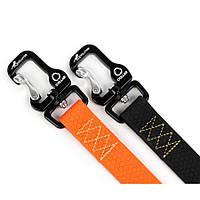 Collar EVOLUTOR самый прочный поводок для собак оранжевый 120смх25мм
