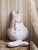 Декоративная интерьерная подушка  Кошка