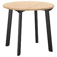 IKEA GAMLARED Стол, пятно, легкая патина, окрашенные в черный цвет  (303.712.40)