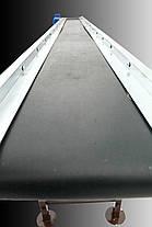 Ленточный конвейер длинной 8 м, ширина ленты 300 мм, фото 3