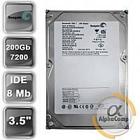 "Жесткий диск 3.5"" 200Gb Seagate ST3200822A (8Mb/7200/IDE) б/у"