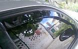 Дефлектори вікон вставні Chevrolet Aveo II 2006-2011 4D Sedan, фото 4