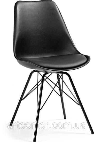 Стул офисный, стул для дома, стул для посетителей, стул обеденный(Тау черный)
