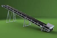 Ленточный конвейер шириной ленты 1000 мм, длиной 7 м