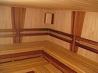 ВАГОНКА В ПАРИЛКУ КЕДР (ламинированная)106х13,8мм