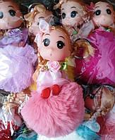 """Брелок Кукла """"Monchhichi"""" искусственный мех 10 см  (уп.12) арт.CC45/4"""