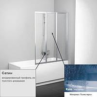 Шторка для ванны RAVAK VS 3-100 RAIN сатин