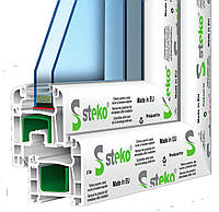 Металлопластиковое окно Steko S 400