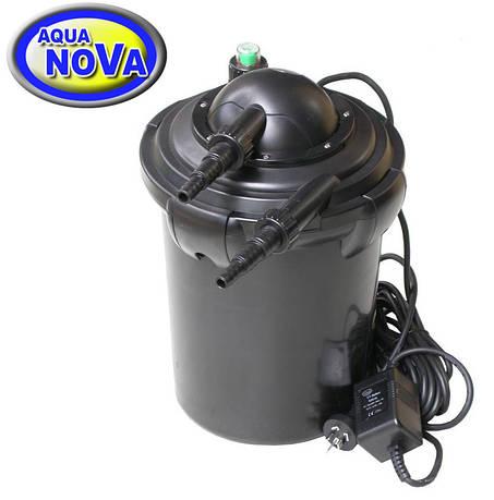 Напорный фильтр для пруда AquaNova NPF-10 УФ-лампа 7Вт