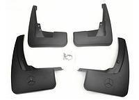 Брызговики Mercedes Benz ML 164 (с порогами) 2005-2012 (полный кт 4-шт), кт., фото 1