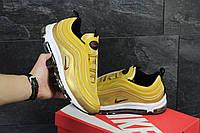 Мужские кроссовки Nike Air max 97, золотистые