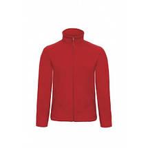 Флисовая куртка B&C унисекс на молнии без капюшона ID 501, фото 2