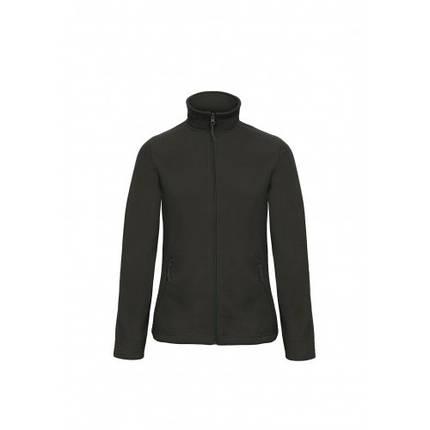 Флисовая куртка B&С женская на молнии без капюшона ID 501, фото 2
