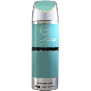 Парфюмированный дезодорант мужской  Blue Homme 200ml. Armaf (Sterling Parfum)