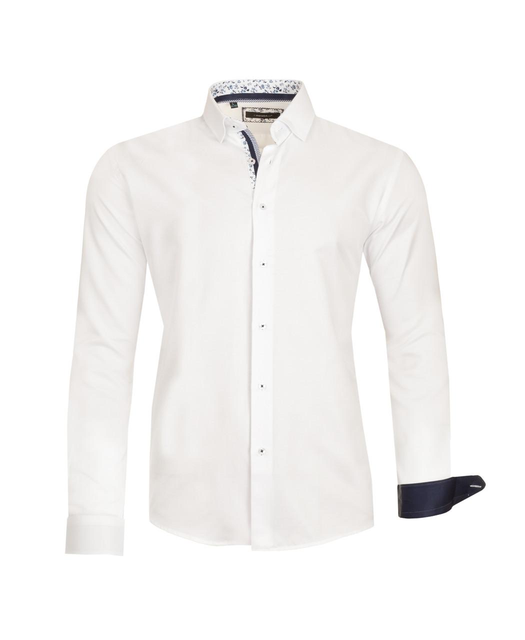 Белая рубашка KS 1674-1 разм. XXL