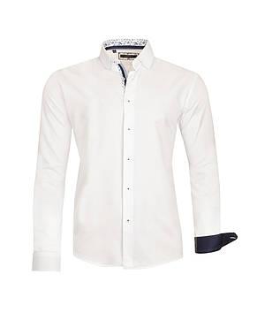 Белая рубашка KS 1674-1 разм. XXL, фото 2