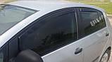 Дефлектори вікон вставні Fiat Linea 4D OD 2007->, 4шт, фото 8