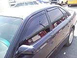 Дефлектори вікон вставні Fiat Linea 4D OD 2007->, 4шт, фото 10