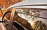 Дефлектори вікон вставні Fiat Palio / Albea 4D 2002->, 2шт, фото 5